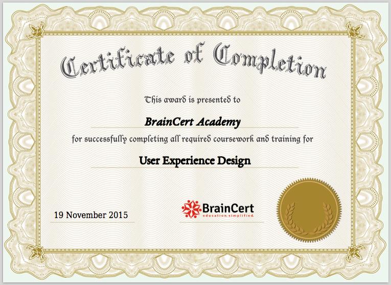 PDF Certificate