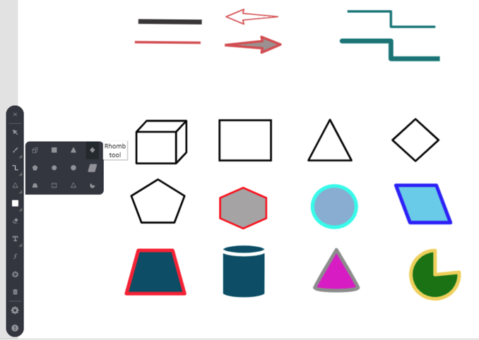 wb tools shapes