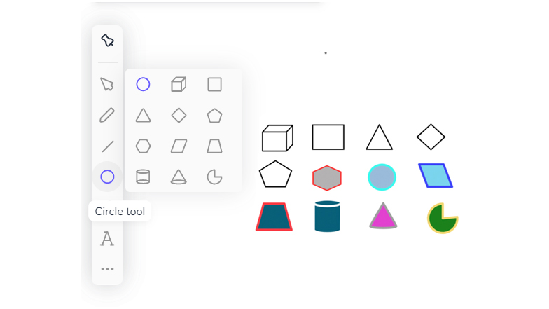 VC Line tool and shapes