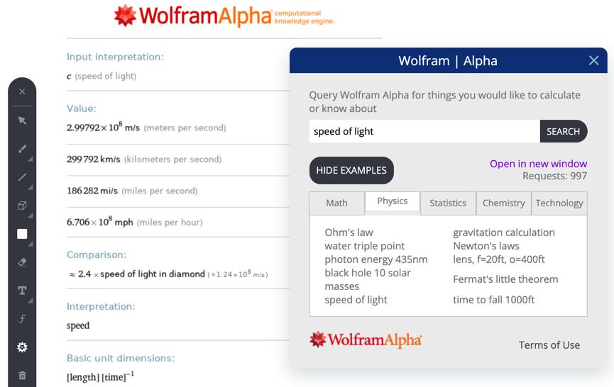 Wolfram Alpha VC